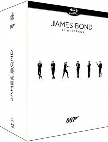 Integrale James Bond 2015 - Nouveau Coffret Blu-ray
