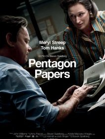 The Pentagon Papers : Meryl Streep une marche au-dessus de Tom Hanks chez Steven Spielberg