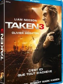 Taken 3 - le test blu-ray