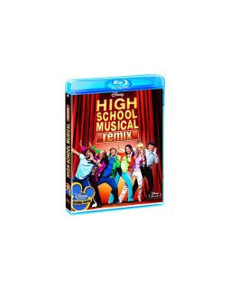High school musical remix, critique blu-ray
