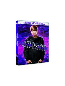 Justin Bieber, Never say never (Version longue inédite) - le test DVD