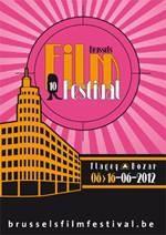 Affiche 10ème édition du Brussels Film Festival - du 8 au 16 juin 2012