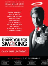 Thank you for smoking - La critique