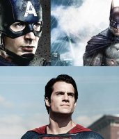 Captain America contre Batman Vs. Superman