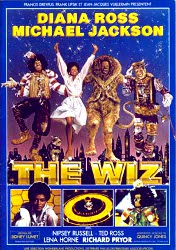 "Affiche The Wiz - la version ""black"" du Magicien d'Oz avec Michael Jackson"