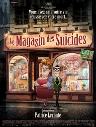 Affiche Le magasin des suicides - Patrice Leconte animera Cannes