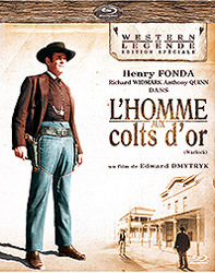 Affiche L'homme aux colts d'or - le test blu-ray