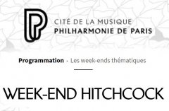 Week-end ciné-concerts d'Alfred Hitchcock