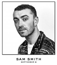 Sam Smith : retour le 8 septembre