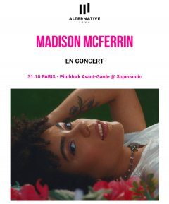 Madison McFerrin en concert au Supersonic