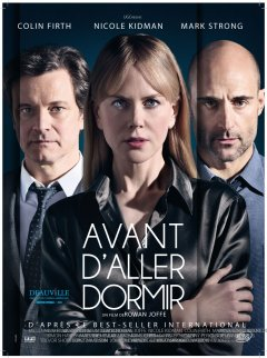 Avant d'aller dormir (Before I go to sleep) : un thriller paranoïaque avec Nicole Kidman et Colin Firth