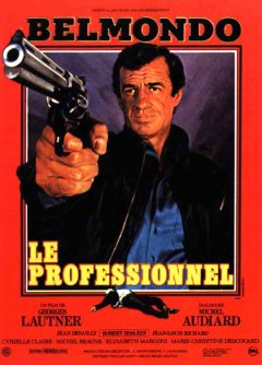 Le professionnel - Georges Lautner - critique