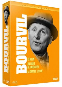 Coffret Bourvil - le test DVD