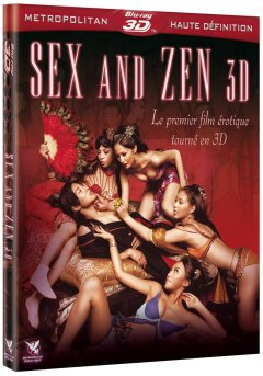 Sex and Zen 3D, un DTV érotique en relief chez Metropolitan