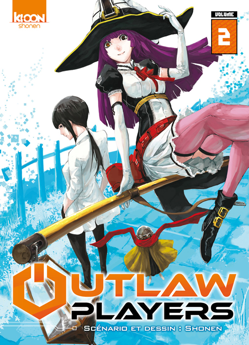 Couverture tome 2 de Outlaw Players-Ki-oon