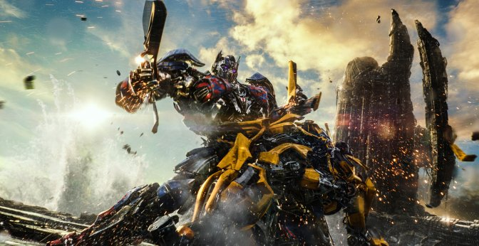 Caterpillar joue les chevaliers dans Transformers : the last knight